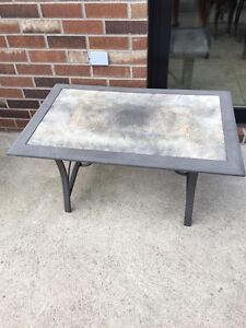 """Small patio table coffee table....MUST GO""""!!!!!!"""