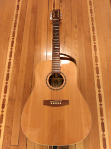Guitare Norman St68, pick-up Fishman.