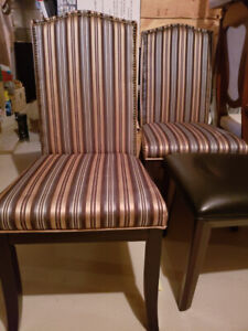 Chairs: 3 styles,  Dining, kitchen table, office, accent piece