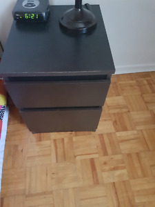 IKEA . 2-drawer chest, night stand