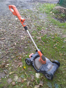 Black n decker weed Wacker lawnmower