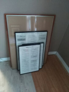 5 Big Picture Frames... various sizes...going cheap.