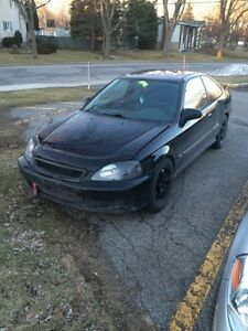 Honda civic coupe 1999 si b16a