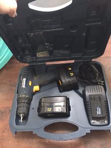 Mastercraft 12V cordless drill