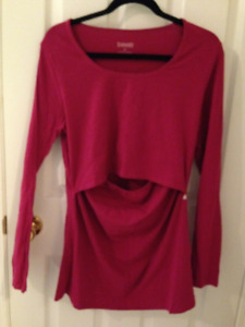 EUC BOOB Boob long sleeve t shirt size XL large