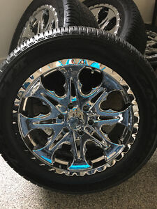Set of 4 Rims with Tires