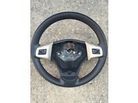 Vauxhall corsa D multi function steering wheel