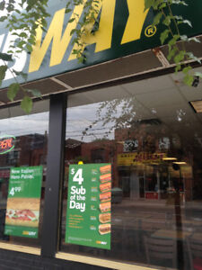 Subway for Sale on Queens Street, Toronto