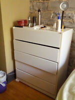 FREE white dresser in okay condition