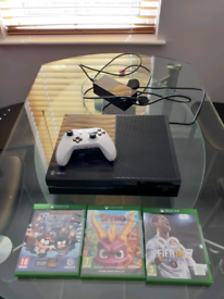 Xbox one with controller games etc £75