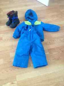 Snow suit boys