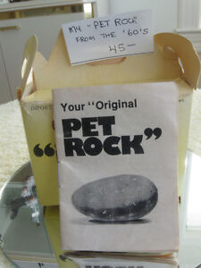 ...An Old FAD from the '60's...My PET ROCK....