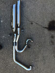 Complete Victory exhaust system(1261259,1261251)