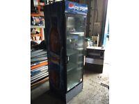 Single Door upright Glass Front Bottle Fridge  Juice, Cans etc... 