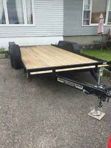 Looking to trade for enclosed or dump trailer