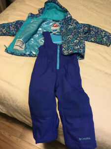 Toddler Girls Columbia Snowsuit