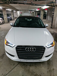 LEASE !!! 2016 Audi A3 2.0T QUATTRO Komfort Audi Care 4 year