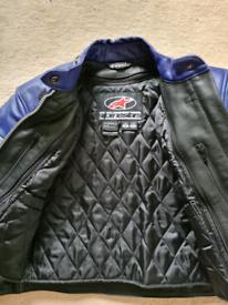 Ladies Motorbike Leather Jacket