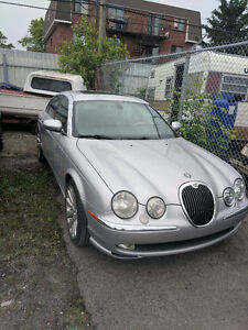 2003 Jaguar S-TYPE Full Berline besoin d' une clutch