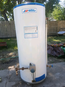 FOR SALE: JOHN WOOD NATURAL GAS 33.3 GALLON WATER HEATER