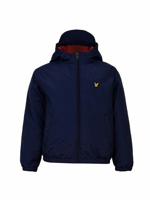 Lyle and Scott Boys Zip through Hooded Jacket (Junior 10 - 11)