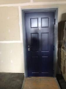 New Entry Door (40.5in - outside; 32in - inside)