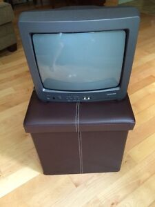 "Toshiba 14"" colour TV (with remote)"