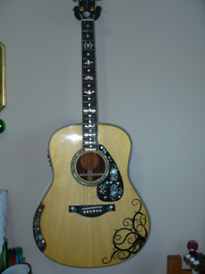 YAMAHA LL16 ARE - ACOUSTIC GUITAR - WITH PICKUP