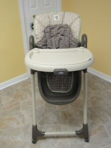 Multilpe Baby iItems. High chair, activity center. cradle/swing