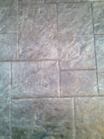 Restoring concrete, stones,pavers and slabs