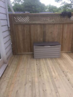 Looking to build a deck or fence? We can help