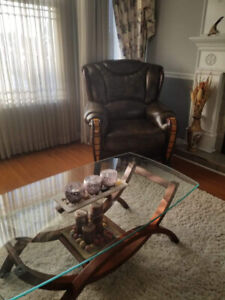 Leather Sofa, Loveseat and Chair for Sale - $600