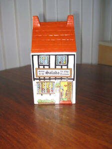 SALADA Village Stores, Cannister, by Wade,  England