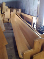 Church pews oak separate or sell all