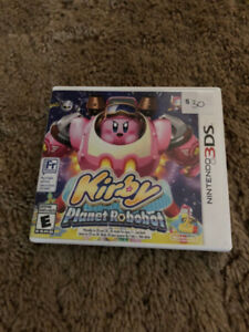 Kirby Planet Robot 3DS (Nintendo) video game
