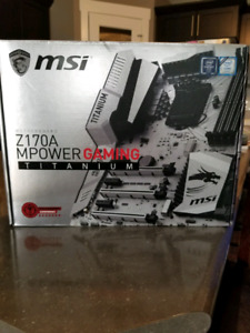 MSI Z170A MPOWER TITANIUM MOTHERBOARD