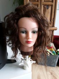 Hairdressing model head
