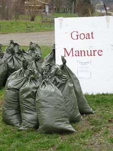 Composted Goat Manure