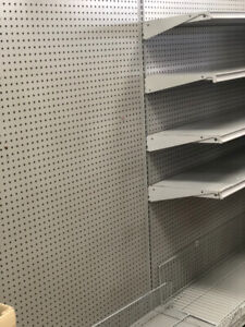 GONDOLAS RETAIL STORE SHELVING USED JUST LIKE NEW GOOD CONDITION