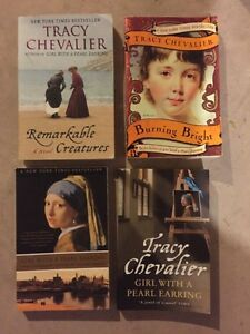 TRACY CHEVALIER-3 book collection