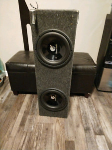 "2 10"" Planet audio subs"