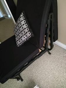 $125 OBO IKEA adjustable sofa chair / bed