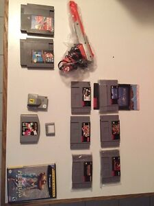 NES SNES Nintendo 64 and GameCube games and accessories