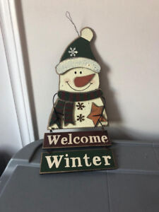 Christmas/Winter Wall Decorations