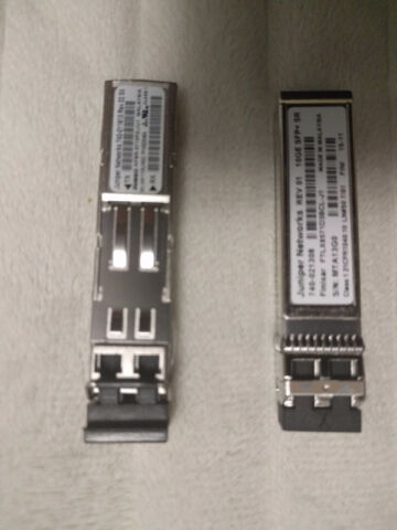 JUNIPER NETWORKS 1000BASE-SX SFP TRANSCEIVER PN: 740-011613