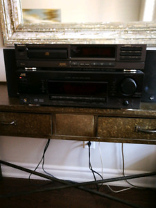 JVC AV Receiver / Boston Acoustics  Speakers / Technics CD
