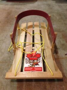 Jab Wooden Baby Sled