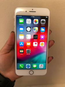 iPhone 8 Plus 256 GB – Silver (WITH BOX + ALL ACCESSORIES)