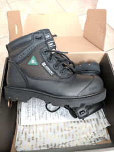 Men's Royer Safety Boots Size 9