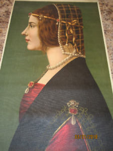 "Beatrice D'Este By Leonardo Da Vinci Canvas Prints app 20"" x 32"""